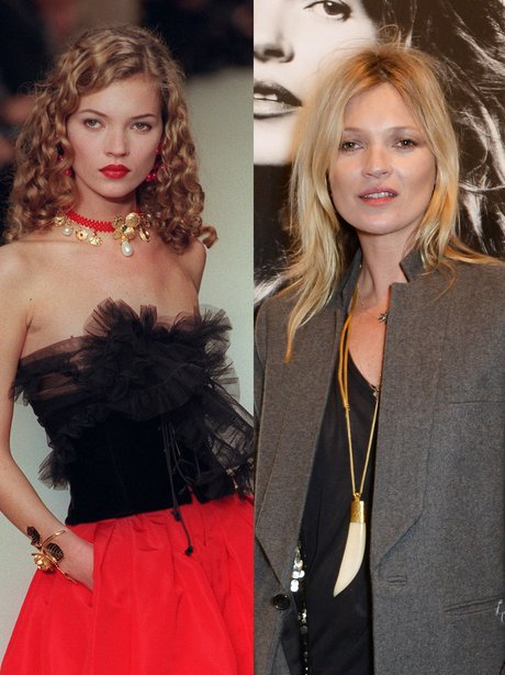 kate moss then and now
