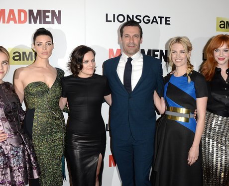 The cast of 'Mad Men' on the red carpet