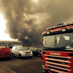 Wellingborough Industrial Estate Fire