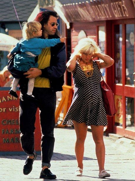 Bob Geldof, Peaches Geldof and Paula Yates