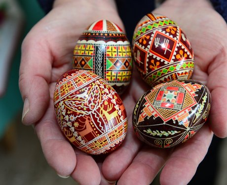 A collection of Easter eggs