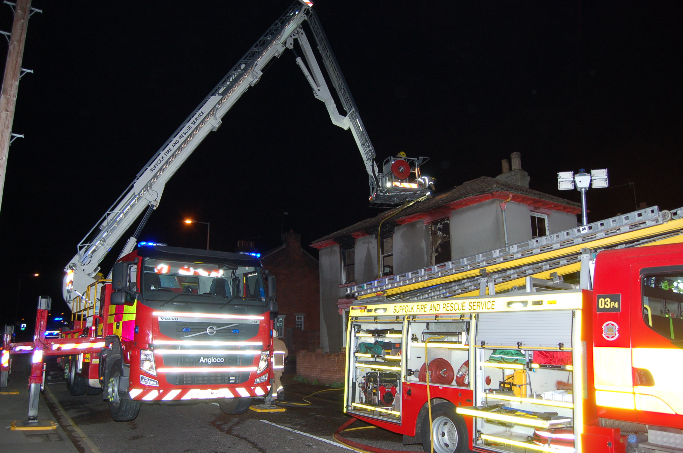 Ipswich fire