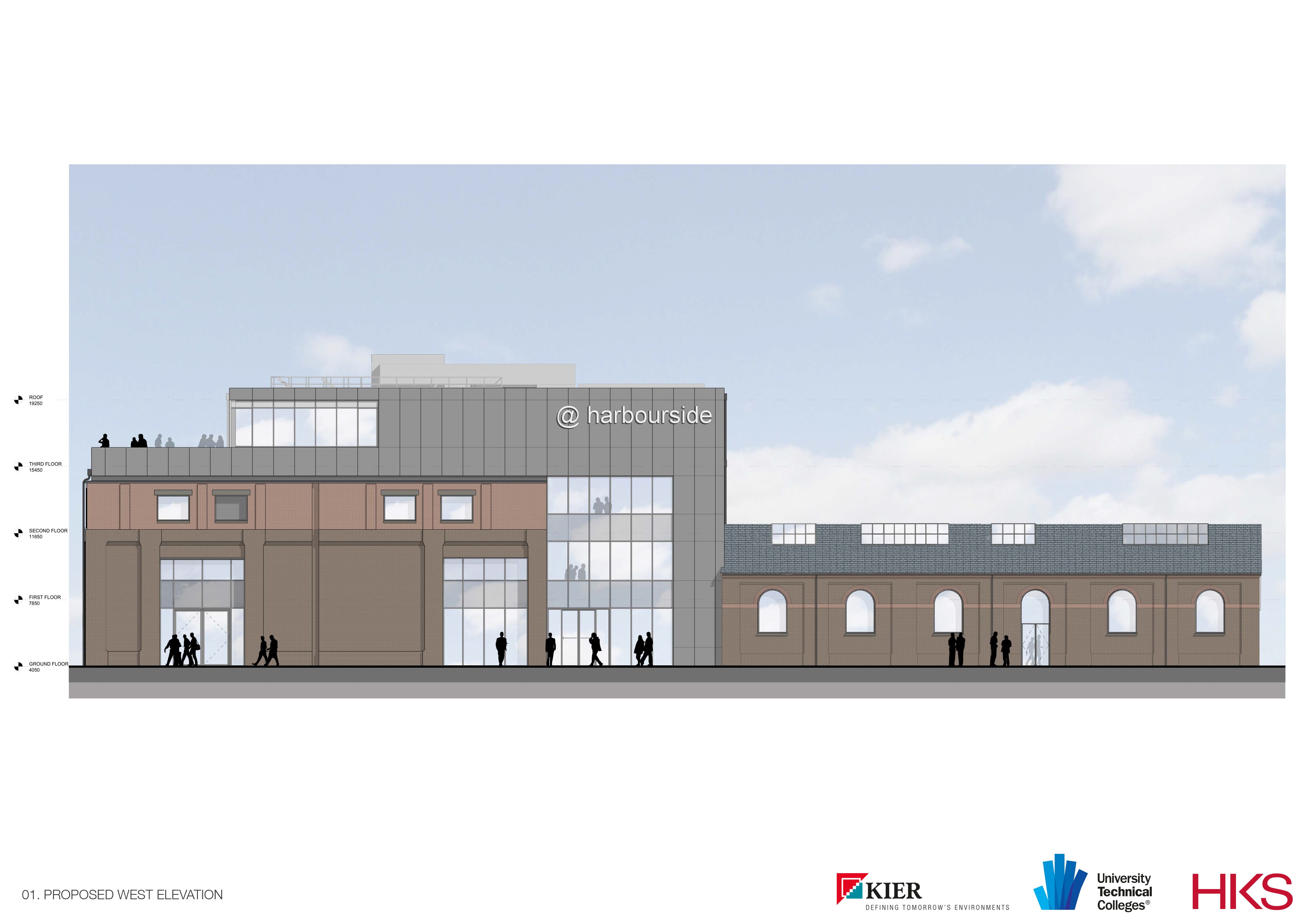 Artists Impression of the college