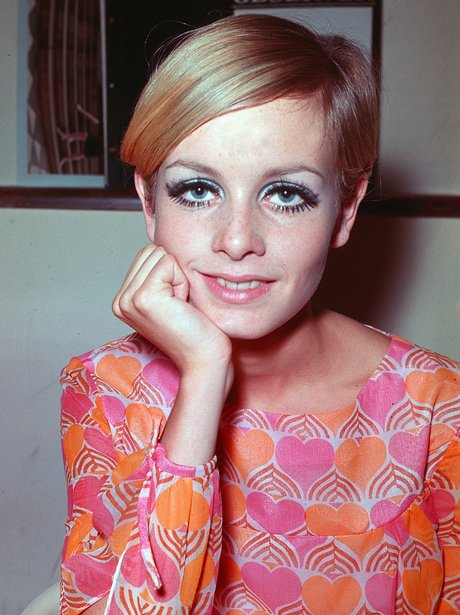 Twiggy in the 1960s