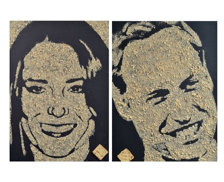 duke and duchess of cambridge artwork