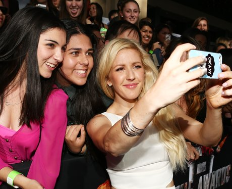 Ellie Goulding and fans at the MTV Movie Awards 20