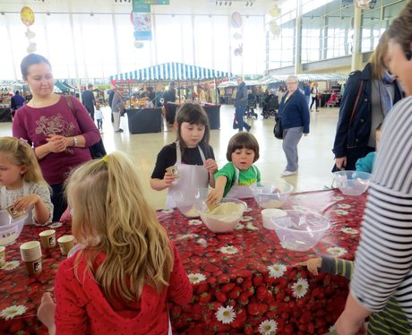 Food Festival in Middleton Hall Centre MK