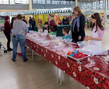 Food Festival in Middleton Hall Centre MK