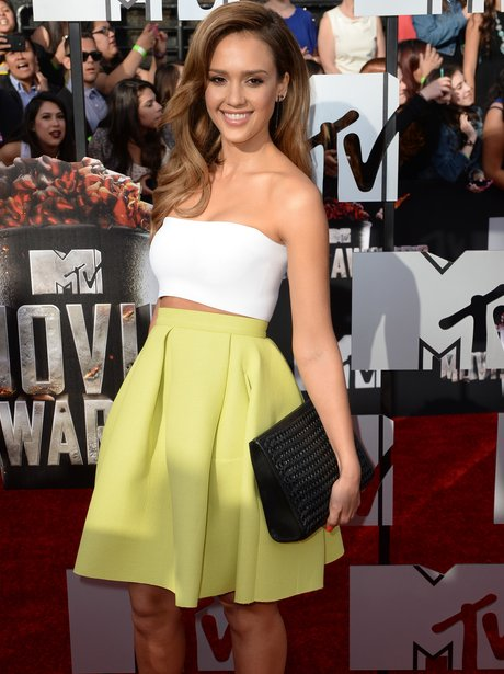 Jessica Alba at the MTV Movie Awards 2014