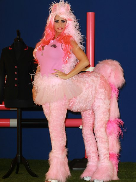 Katie Price Horse Outfit