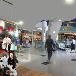 How the new food area of Castle Mall could look