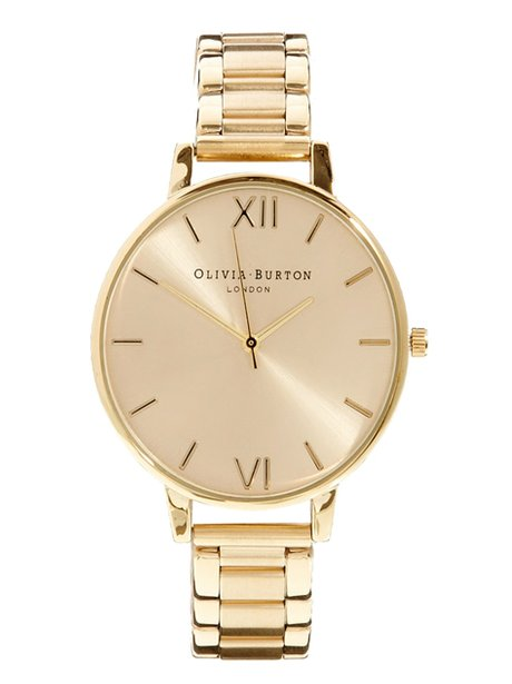 Chunky Gold Watch