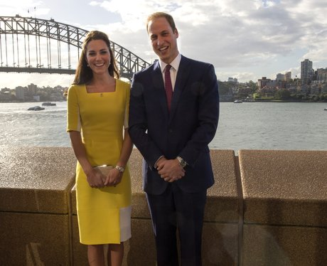 The Duke and Duchess by Sydney Harbour