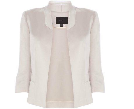 White Tailored Jacket