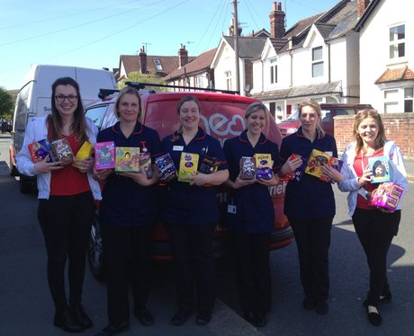 We teamed up with Legal & General this Easter & as