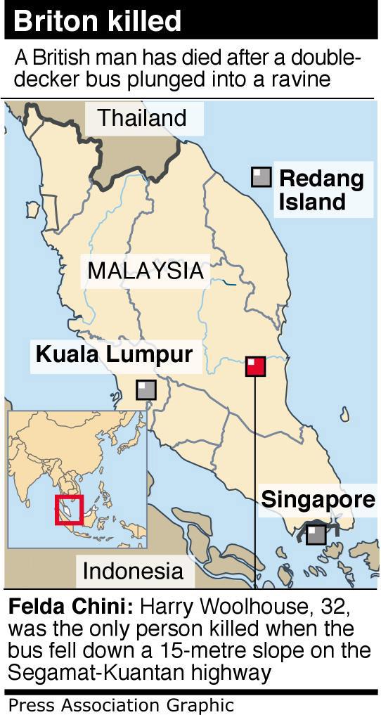 Malaysia Bus Crash