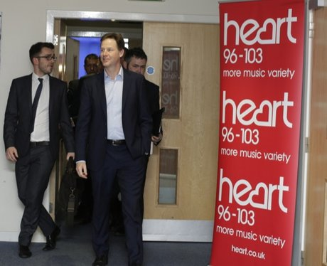 Nick Clegg Meets Colchester