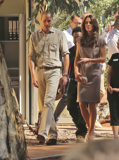 Kate Middleton and Prince William walking together