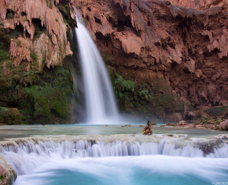waterfalls grand canyon