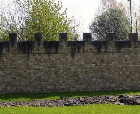 Segedunum Roman Fort in Wallsend.