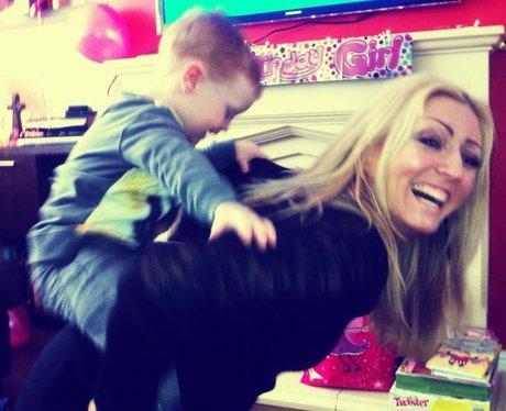 kelly with her nephew