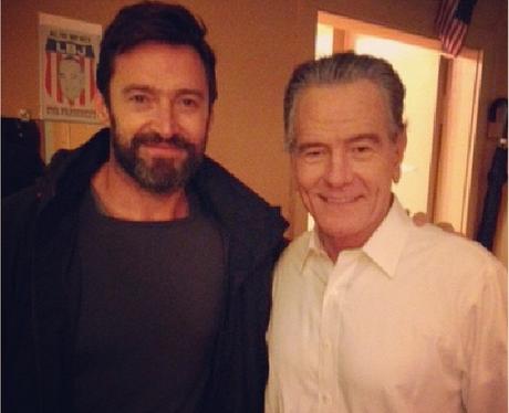 Hugh Jackman and Bryan Cranston