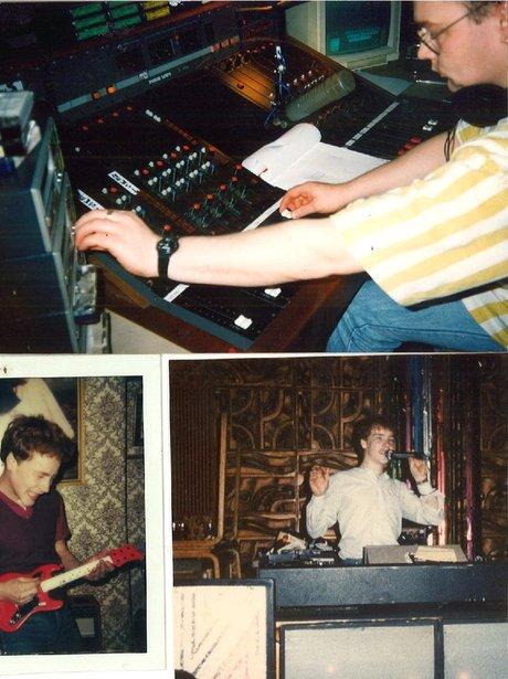Jagger's DJing