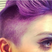 Image 8: Kelly Osbourne purple mohawk