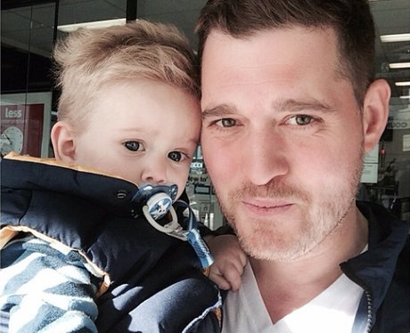 Michael buble and Noah Instagram