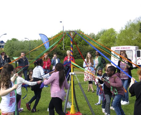 May Day Festival in Milton Keynes