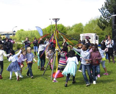 May Day Festival in Milton Keynes