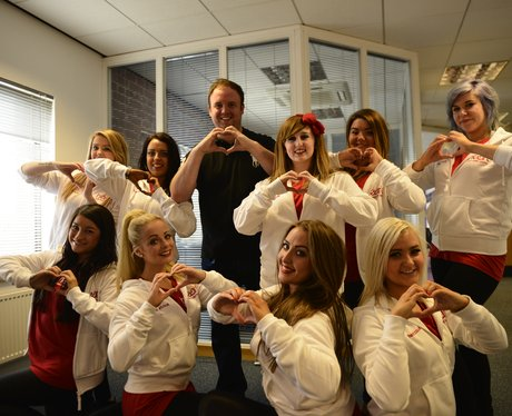 Paul Harper with our dancers