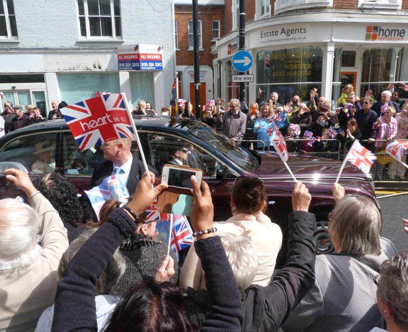 The Queen In Essex