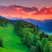Image 7: Sunset over the hills in Bavaria