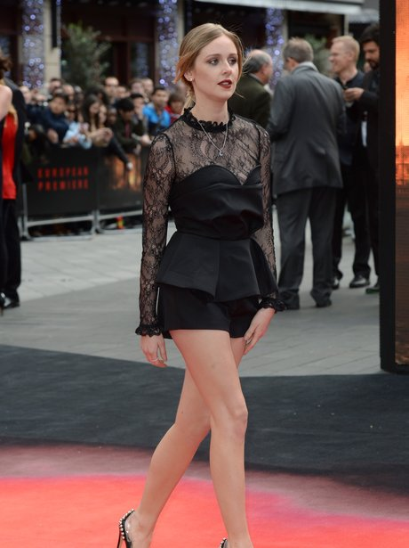 diana vickers on the red carpet