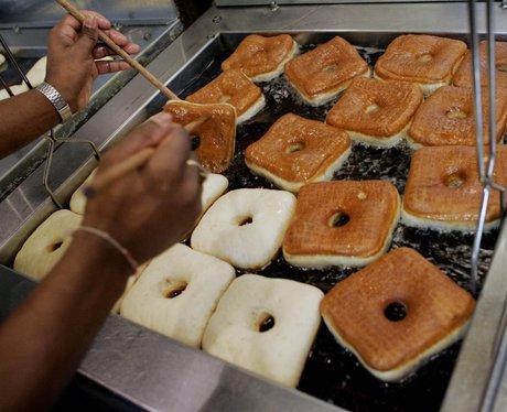 square doughnuts