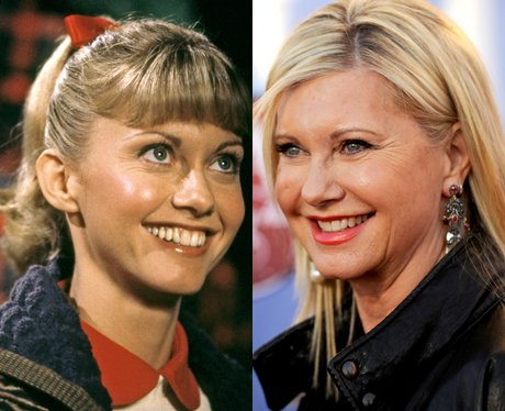 Olivia Newton-John then and now