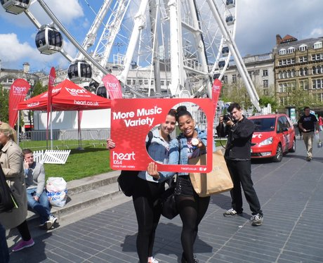 Heart Launch Day North West 6th May