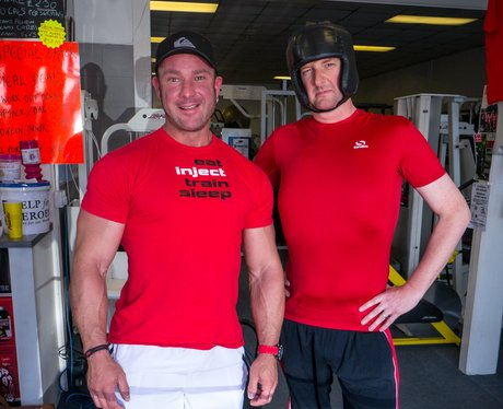 James at Flex Appeal Gym