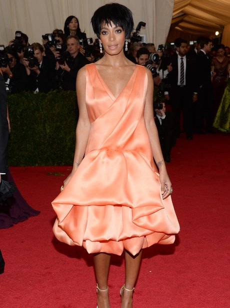Solange Knowles at the Met Gala