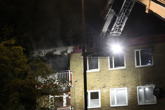 Southampton York Close flat fire