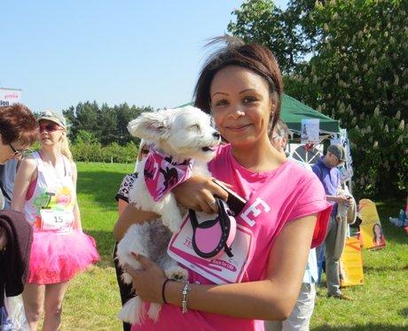Heart Angels: Fancy Dress at Aylesbury Race for Li