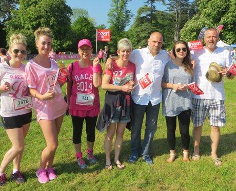 Heart Angels: Pink Ladies at Aylesbury Race for Li