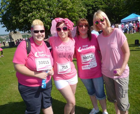 Heart Angels: Rochester Race For Life - Pre-Race!