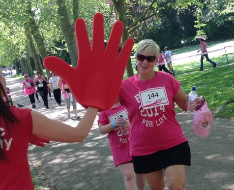 Heart Angels: Rochester Race For Life - The Race!