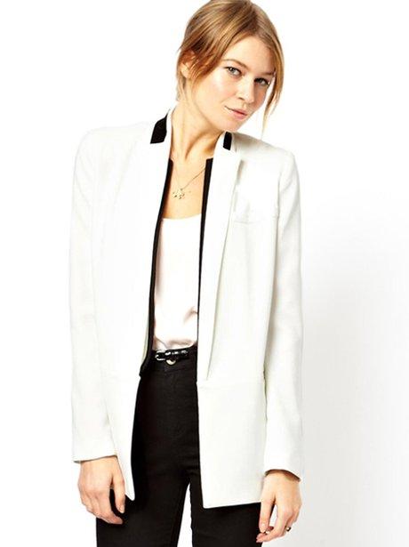 Asos white blazer