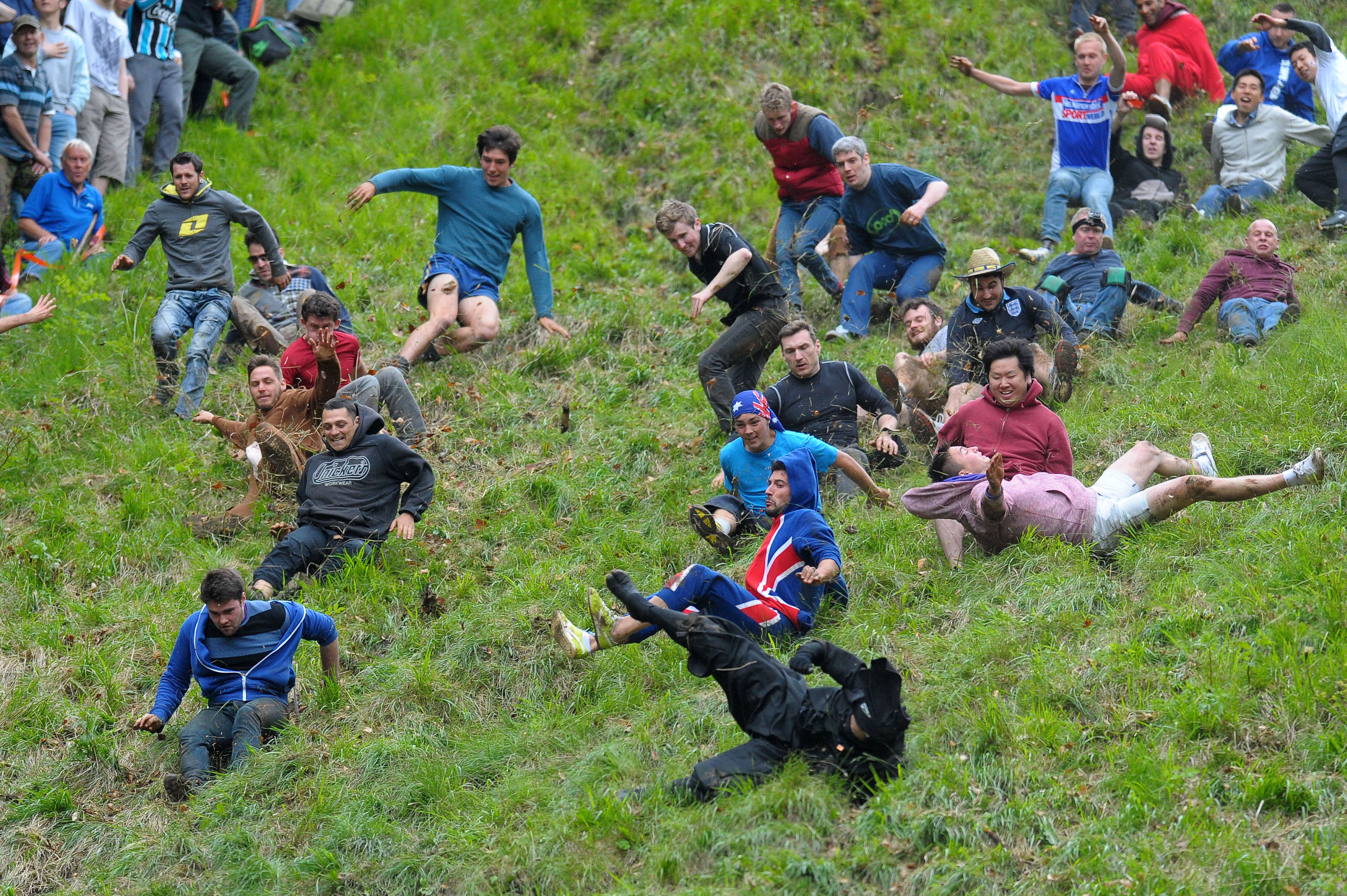 Cheese Rolling 2014 Photos