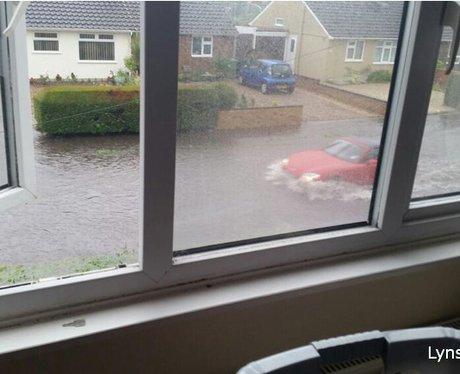 East Anglia Flooding May 2014