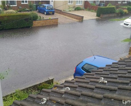 East Anglia Flooding May 2014