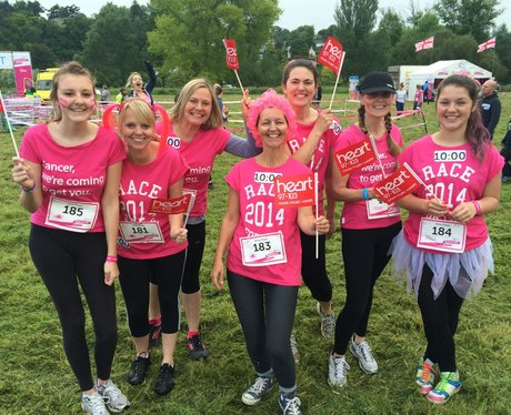 Heart Angels: Pretty Muddy Reading Cheerzone